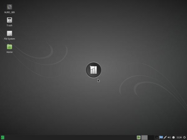 Manjaro 0.8.9 Xfce desktop