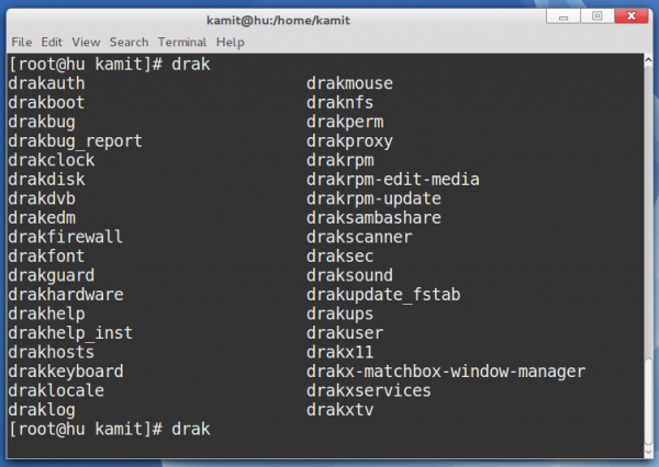 Drakx suite to apps