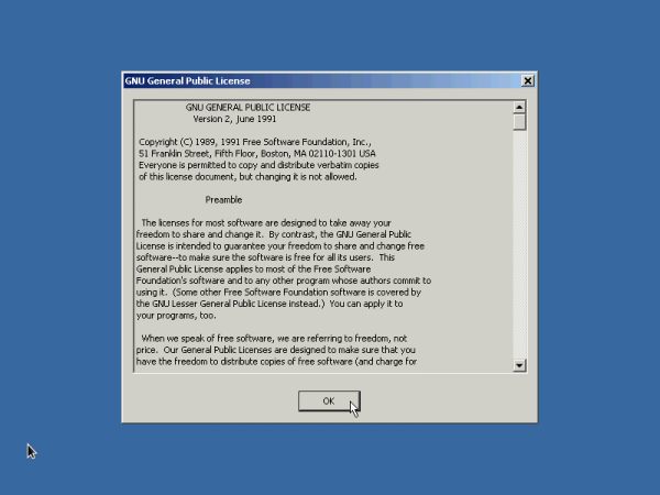 ReactOS GPL License