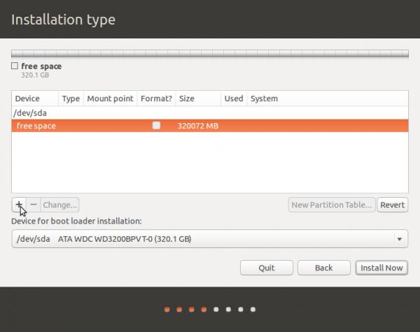 Ubuntu advanced partition tool