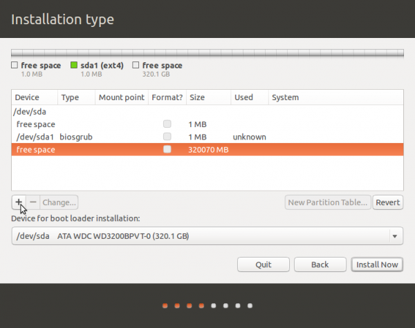 Ubuntu 13.10 advanced partition tool