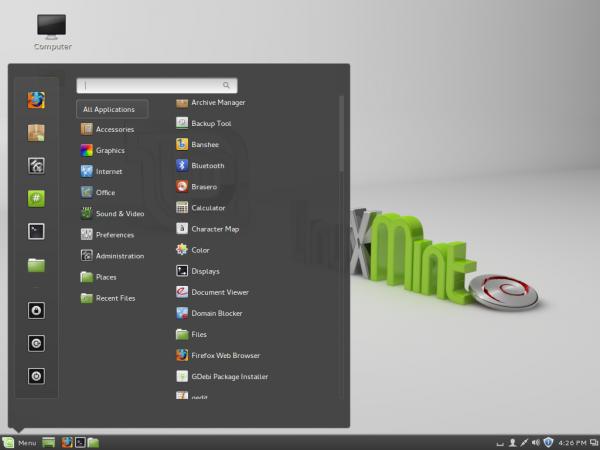 Linux Mint Debian Cinnamon