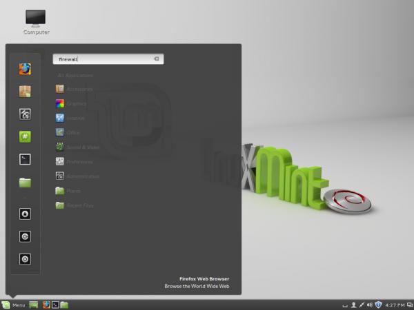 Linux Mint Debian (LMDE) Cinnamon