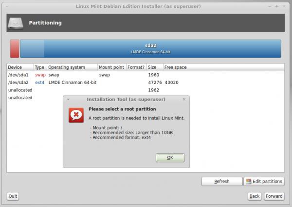 Linux Mint Debian (LMDE)