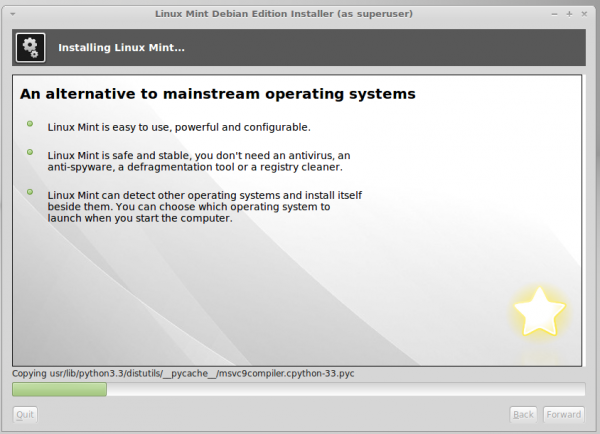 Linux Mint Debian Edition (LMDE) 201403 review