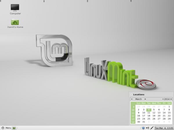 Linux Mint Debian (LMDE) MATE desktop