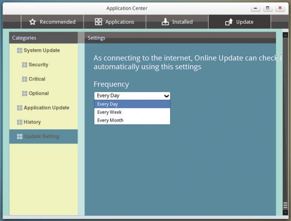 Linpus Lite 2.1 AppCenter updates