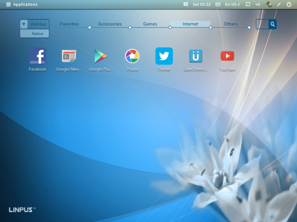 Linspus Lite 2.1 desktop icon mode