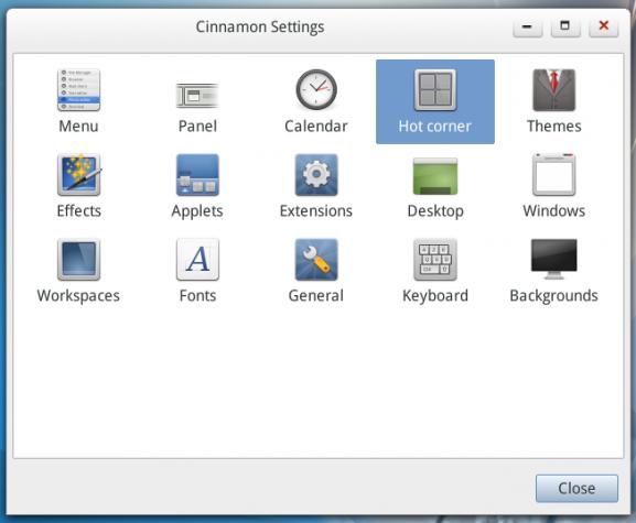 Linpus Lite 2.1 Cinnamon System Settings