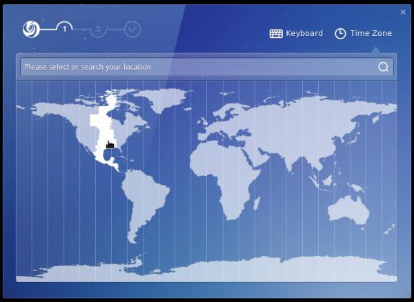 Linux Deepin 2014 timezone
