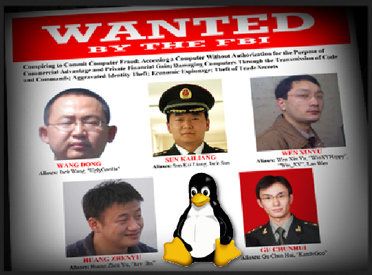 US charges Chinese military hackers