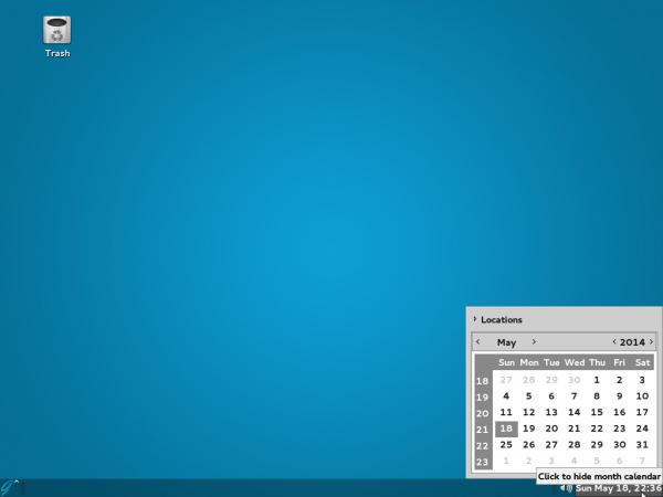 GhostBSD 4.0 MATE desktop