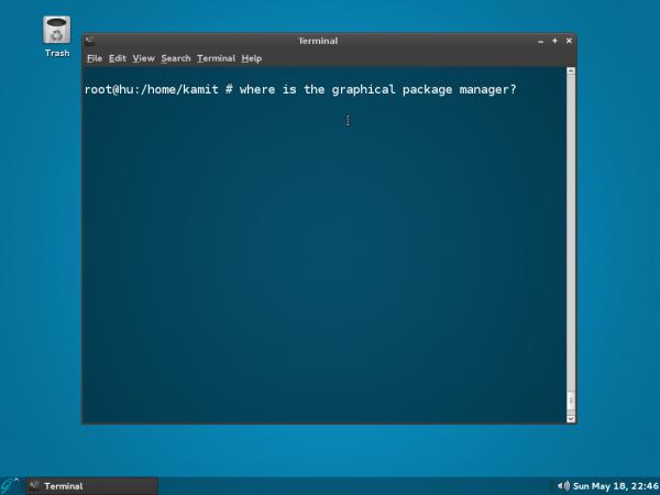GhostBSD 4.0 MATE terminal