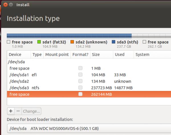 Ubuntu 14.04 Advanced Partition Tool