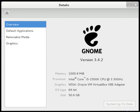 Kali Linux 1.0.7 GNOME 3