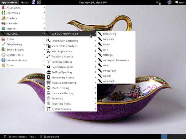 Kali Linux 1.0.7 Tools