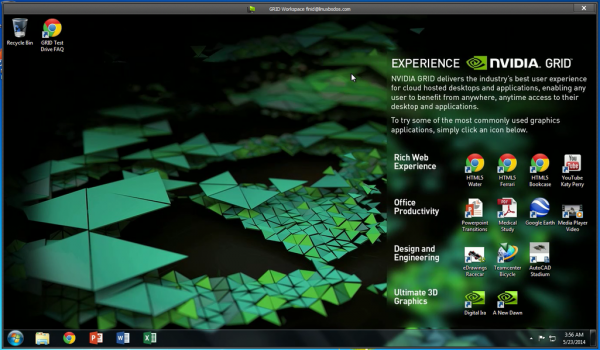 NVIDIA GRID Workspace