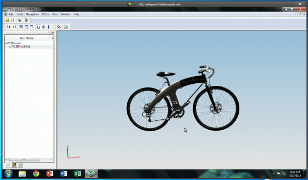 NVIDIA GRID Bicycle