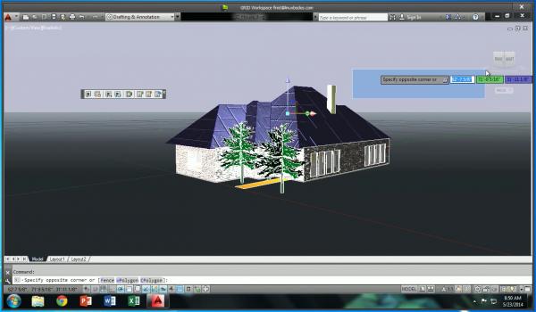NVIDIA GRID 3D house