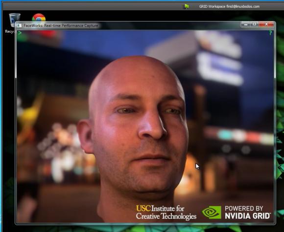 NVIDIA GRID face