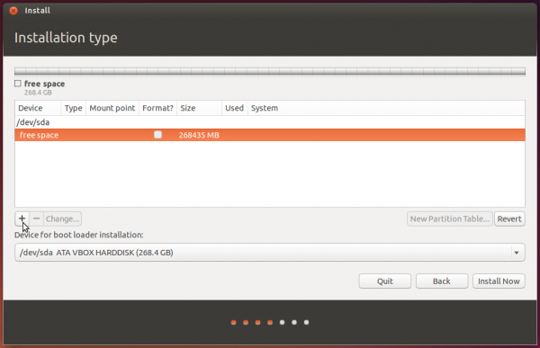 Ubuntu 14.04 advanced partition tool