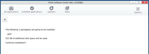ROSA Software Center
