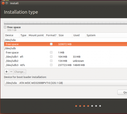 Ubuntu 14.04 partition tool