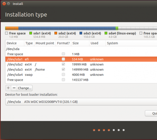 Ubuntu 14.04 EFI partition