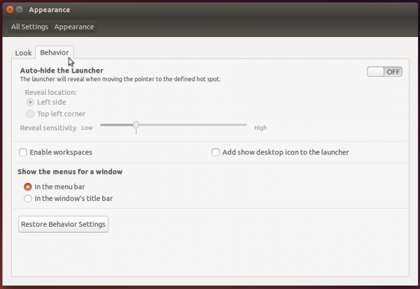 Customize Ubuntu 14.04