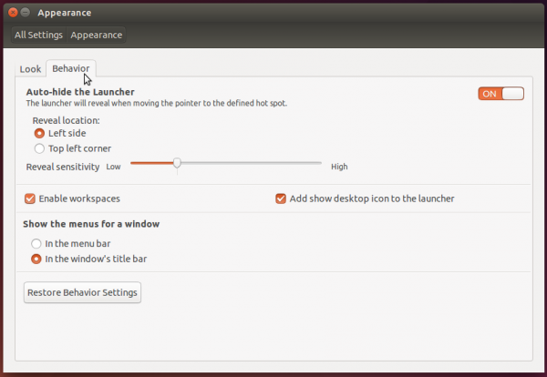 Customize Ubuntu 14.04