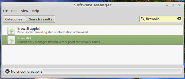 Replace Ufw firewall with FirewallD on Linux Mint 17 Cinnamon