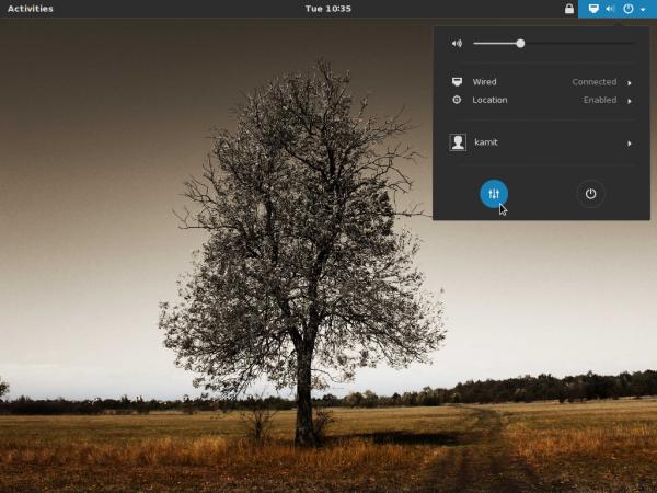 GNOME 3.12 Desktop