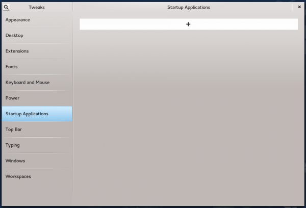 Managing startup applications in GNOME 3
