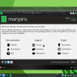 Manjaro 0.8.10 KDE screenshots