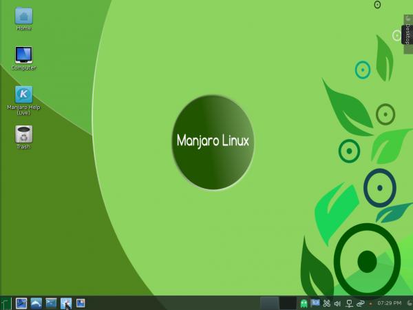 Manjaro 0.8.10 KDE