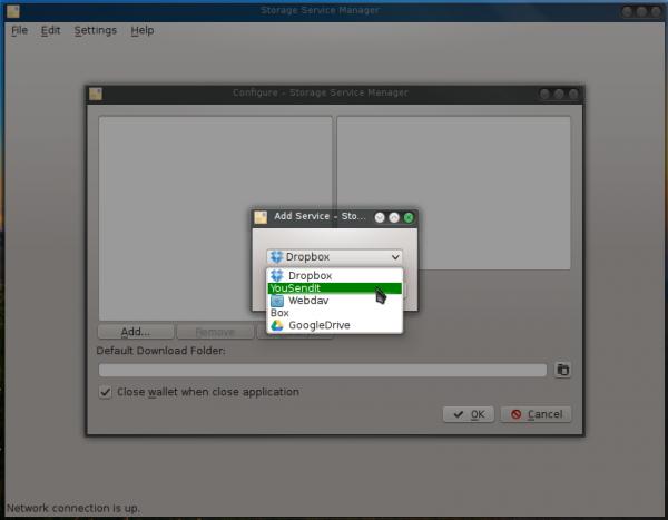 Manjaro 0.8.10 storage manager