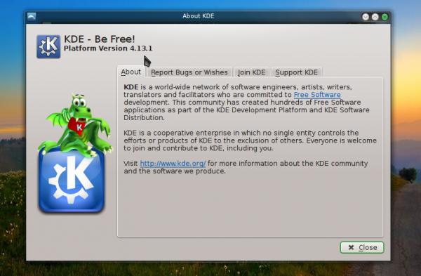 Manjaro 0.8.10 KDE 4.13.1