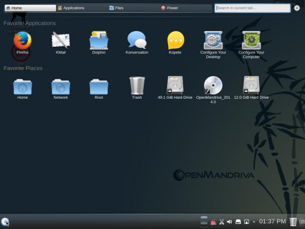 OpenMandriva Lx 2014 Homerun