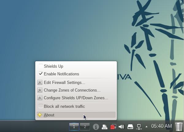 OpenMadriva Lx 2014 Firewalld