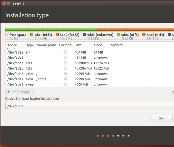 Ubuntu 14.04 install GRUB EFI