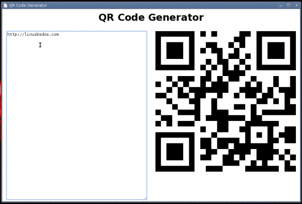 BitKey qrcode generator
