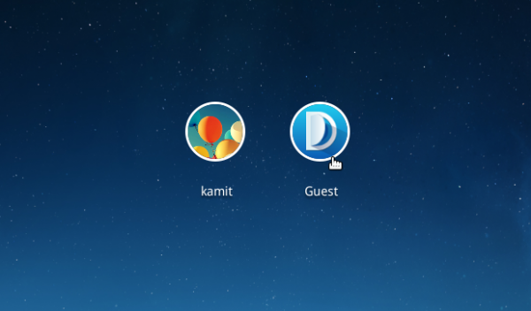Deepin 2014 login accounts