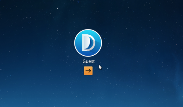 Deepin 2014 guest account