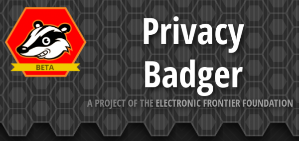 EFF Privacy Badger beta