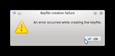 Linux Mint 17 KDE encryption error