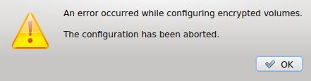 Linux Mint 17 disk error