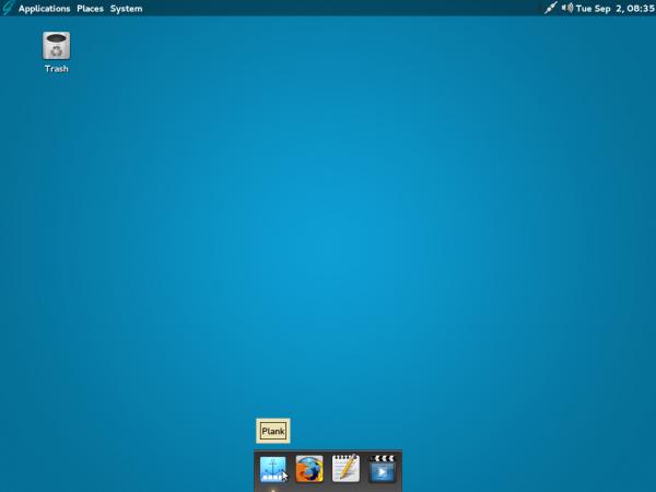 GhostBSD 4 MATE desktop