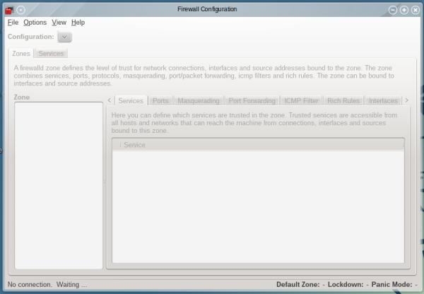 OpenMandriva 2014.1 firewall
