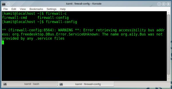 OpenMandriva 2014.1 firewall-config